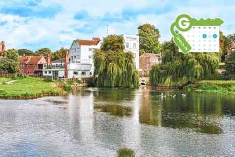 The Mill Hotel - Suffolk Stay for Two in Double Room with Breakfast and Option for AA Rosette Dinner - Save 0%