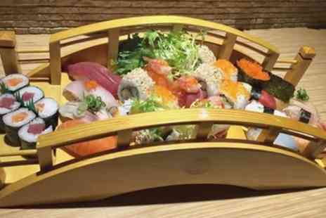 Wasabi Sabi - 32 Piece Sushi Boat Lunch for Two - Save 56%