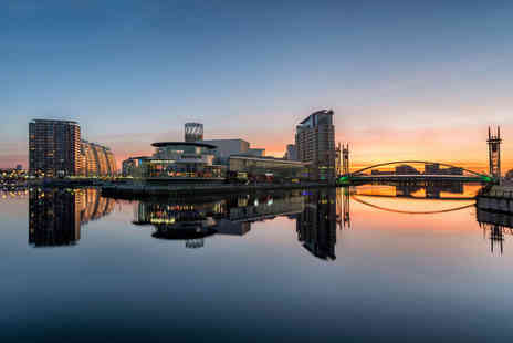 Britannia Hotels - Overnight Manchester break for two with breakfast, a Friday stay or include dinner and a bottle of house wine - Save 0%