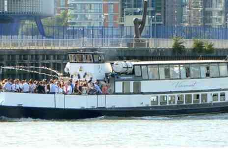 Thames Party Boats - Summer London Boat Party for Up to Four - Save 55%