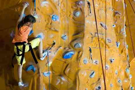 The Foundry Climbing Centre - One rock climbing session for two or four children - Save 50%