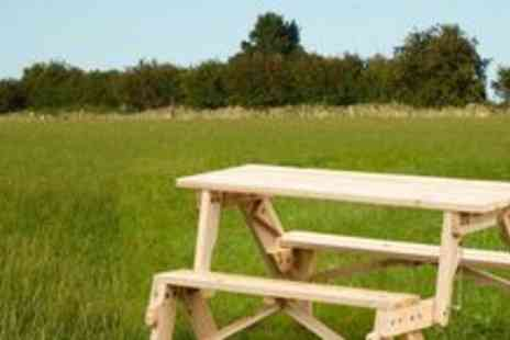 Easy Gift Products - Childrens Wooden Picnic Table and Bench - Save 58%
