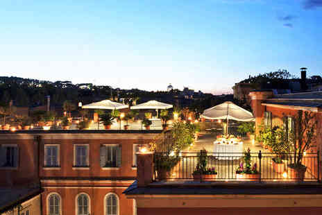 Hotel Ponte Sisto - Four Star Romantic Escape For Two with St. Peters Basilica Views - Save 81%