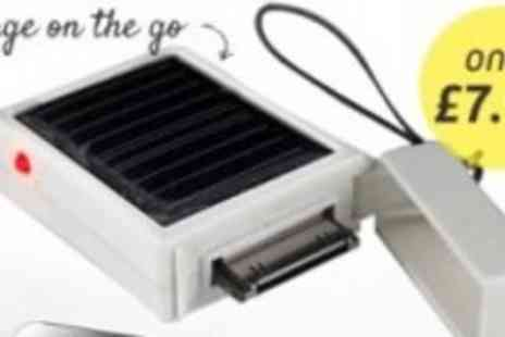 Led Hut - Mini Solar Powered Charger for iPhone & iPod - Save 60%