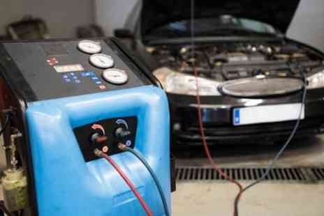 Auto Jobbs - Full Air Conditioning Service with Re Gas - Save 44%