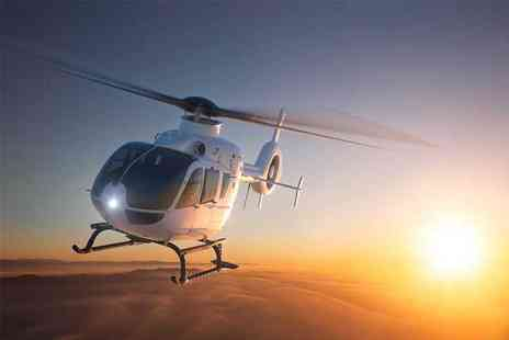 Buyagift - Blue Skies helicopter tour with bubbly for one - Save 0%