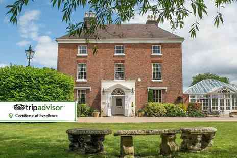 The Hadley Park House Hotel - Overnight stay for two people at Hadley Park House with breakfast, sparkling cream tea and two Blists Hill Victorian Town tickets - Save 34%