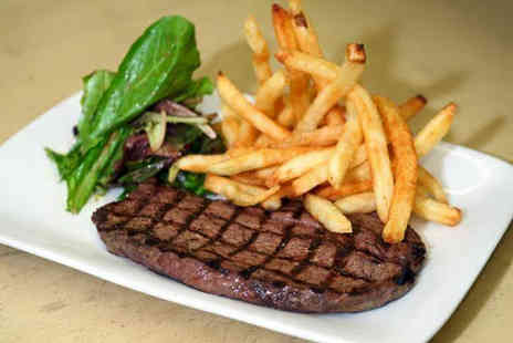 Banks Bistro - 8oz sirloin steak dining for two - Save 0%