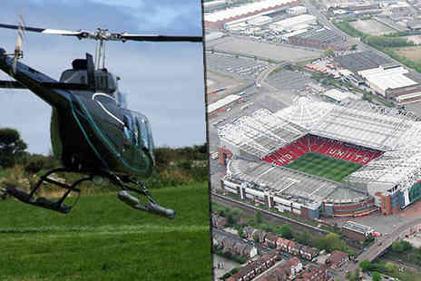 into the blue - Football Stadium Helicopter Tour at 12 Locations - Save 0%