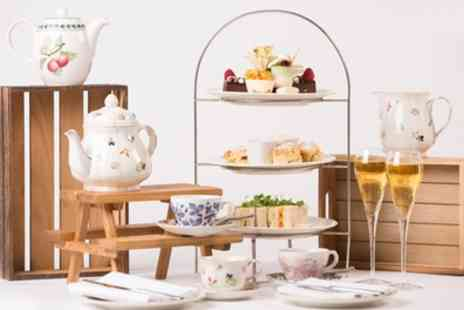 The Stanneylands Hotel - Four Star Traditional, Prosecco, Gin or Sparkling Afternoon Tea for Two - Save 45%