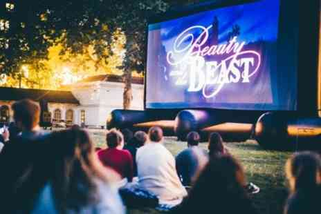 Pop Up Screens - Outdoor Cinema with choice of over 30 Blockbuster Movies 7 locations - Save 50%