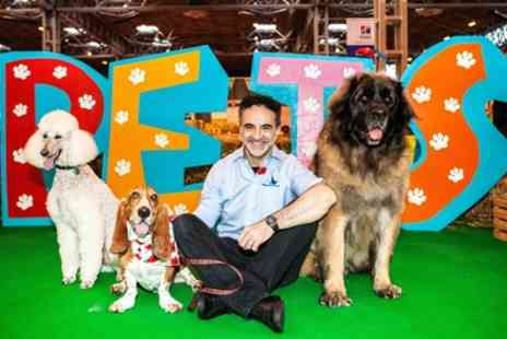 National Pet Show - One ticket for a child, adult or a family of four to National Pet Show on 4 To 5 November - Save 25%