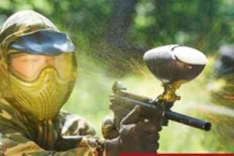 Adrenalin Rush - Paintball For Five With 100 Balls Each - Save 76%