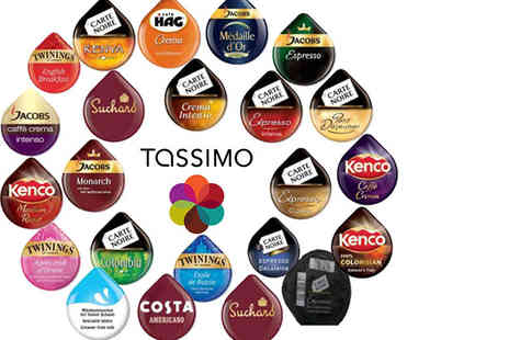 Eurovista2010 - Pack of 23 Tassimo T discs in assorted flavours - Save 80%