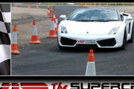 VIP UK Experience Days - An 8 Lap Supercar And Touring Car Experience Day In 4 Turbo Charged Cars - Save 82%