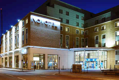 Novotel - Four Star Greenwich Stay For Two with Thames City Cruise - Save 69%