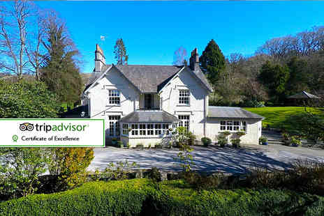 Briery Wood Country House Hotel - Overnight Lake District stay for two with breakfast and cream tea or breakfast and Windermere Cruise - Save 45%