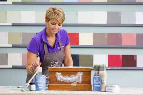 ShabbyAnd - Furniture painting workshop for one or two using Autentico chalk paints - Save 71%