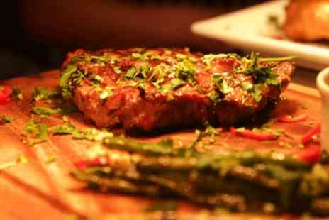 Le Madison - Steak Meal Each and Drink or Milkshake for Two, Four or Six - Save 51%