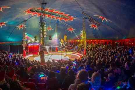 Zippos Circus - One side view ticket to Zippos Circus on 7 July To 7 August - Save 50%