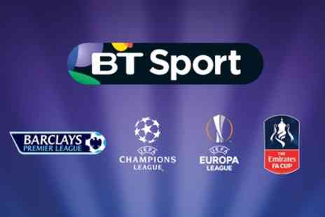 BT Sport - 12 Months of Half Price BT Sport Including Activation Fee and Three Months of HD - Save 0%