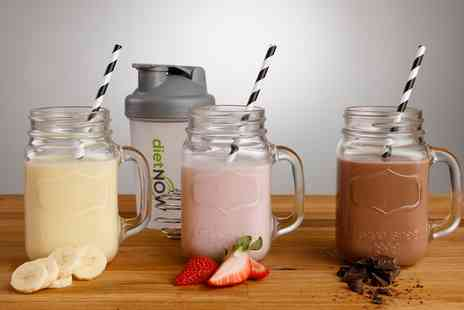 Groupon Goods Global GmbH - Diet Now Two, Four, Six or Eight Week Meal Replacement Shake Plan with Free Shaker - Save 52%