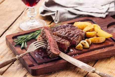 The Bluebell - Steak Meal with Wine for Two or Four - Save 43%