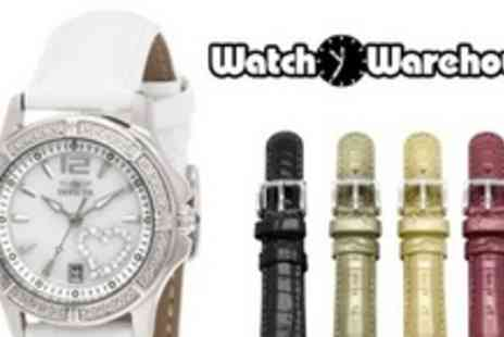 Watch Warehouse - Invicta Special Edition Ladies Watch with Five Interchangeable Straps - Save 52%