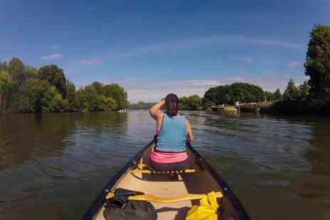 Back of Beyond Adventures - Two and a half hour circular Eel Pie Island canoe trip for two - Save 42%