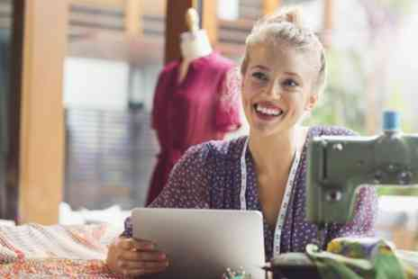 Online City Training - Online Dress Making and Fashion Design Diploma - Save 90%