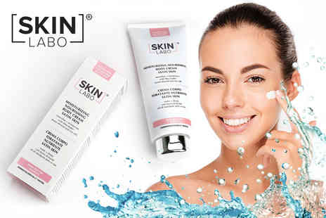 IDT Spa - 400ml bottle of Skin Labo moisturising body cream - Save 63%