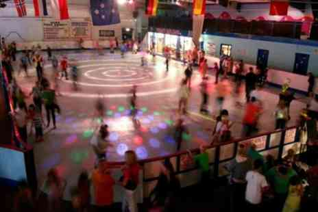 Simply Skate Arena - Indoor Skating with Skate Hire and Drink for Two, Three or Four - Save 54%