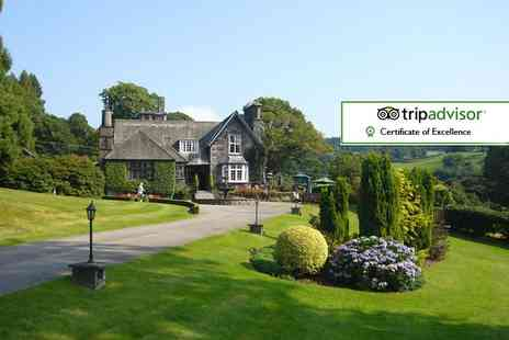 Broadoaks Country House - Overnight Lake District break including a four course dinner, breakfast, spa access, cream tea and late check out - Save 42%