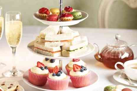 Samlesbury Hotel - Champagne Afternoon Tea for 2 - Save 47%
