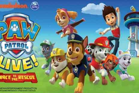 LifeLike Touring - Paw Patrol Live Race to the Rescue on 29 July to 27 August - Save 50%