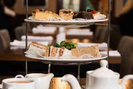 Bredbury Hall Hotel - Sparkling Afternoon Tea for Two or Four - Save 0%