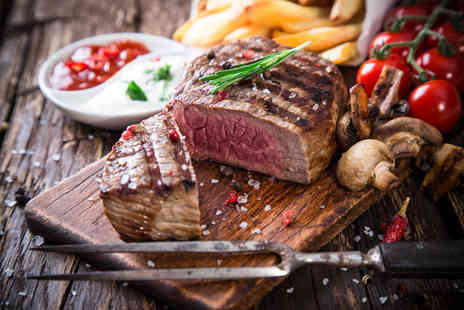The Townhouse Hotel - Steak dining for two with a glass of wine each - Save 59%