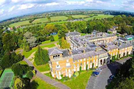 Oatlands Park Hotel - One or two night Surrey stay for two with breakfast, cream tea and Prosecco - Save 46%