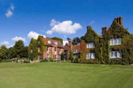 Letchworth Hall Hotel - Two night stay for two with breakfast worth including a bottle of wine - Save 69%