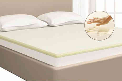 Omeco Limited - 1 or 2 inch mattress topper choose from three sizes - Save 53%