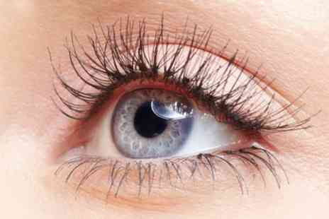 Luxe Lashes - Half or Full Set of Semi Permanent Eyelash Extensions - Save 57%