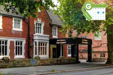 The Stuart Hotel - Double Room for Two with Breakfast, Wine and Option for Dinner - Save 0%