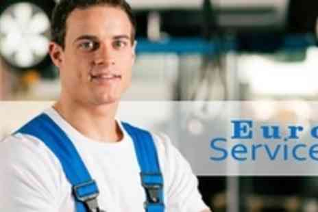 Euro Motor Services - MOT With Vehicle Service Plus Diagnostic Checks - Save 74%