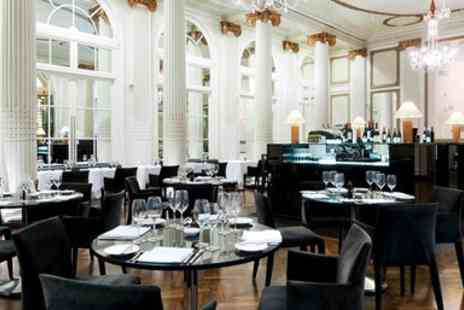 Hilton London Waldorf Hotel - Two Course Dinner with Champagne for 2 - Save 44%
