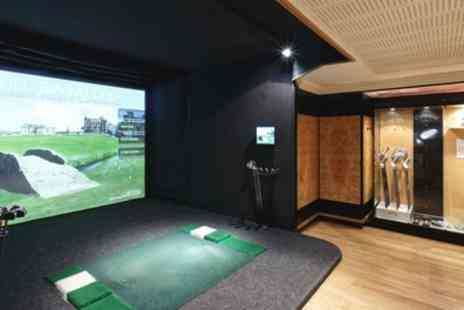 Grange City Hotel - Two Hour Golf Simulator Hire for Up to Four with Optional Five Beers - Save 64%