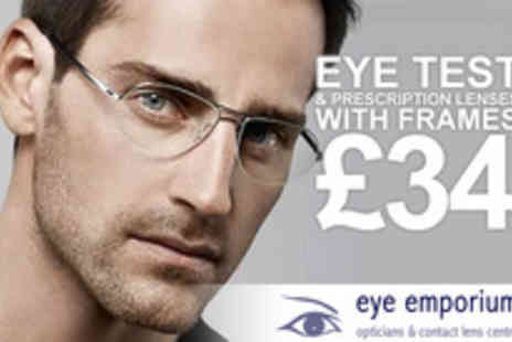 Eye Emporium Opticians - An eye opening on an eye test and prescription glasses - Save 72%