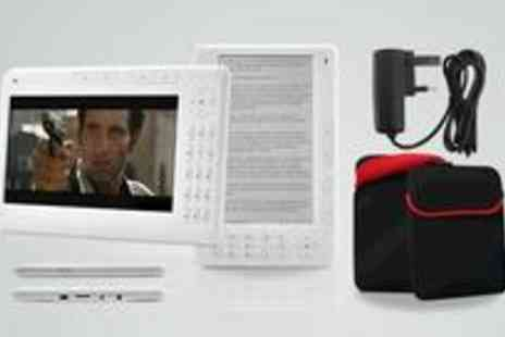 CPR Distribution - ZzBook eReader, case and charger - Save 54%