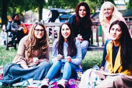 Pop Up Events - Ticket to a Pop Up Outdoor Cinema Screening - Save 50%