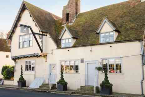 The Dog Inn - Three Course Lunch or Dinner with Bubbly for 2 - Save 53%