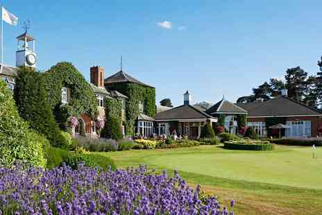 The Belfry Resort - Luxurious Warwickshire Spa Day & Afternoon Tea - Save 54%